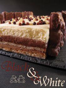 Un entremets très léger , crousti-mousseux qui mêle la force du chocolat noir à la douceur lactée du chocolat blanc . Entre deux abaiss...