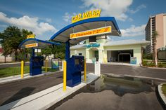 Island Time Car Wash is the longest express car wash tunnel in North Florida totaling 153′. Our goal is to provide an easy and consistent experience for the customer, with the quality expected from a car wash. We offer 18 free vacuum spots and towel exchange programs. We also offer monthly memberships where you can wash your car once a day for the entire month for one low price (think Netflix for car washes!).
