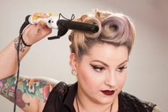 Pinup Beauty Basics: How to Win at Victory Rolls
