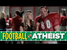 If Football Players Were Atheists - YouTube