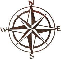 Nautical Relief Metal Wall Art - Compass Rose By Kevin Fletcher - ClipArt Best Compass Wall Decor, Nautical Compass, Simple Compass, Pirate Compass, Nautical Logo, Compass Logo, Nautical Quilt, Nautical Star, Anchor Tattoos