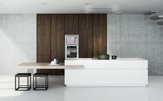 "Pessina cucine Kitchen ""Isola"" by SolutionStudio"