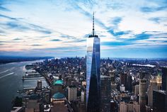 NYC One World Trade Center Observatory Skip-the-Line Ticket 2019 - New York City Empire State Building, One World Trade Center, Trade Centre, Winter Onederland, New York City Tours, New York Attractions, King Kong, Downtown New York, Travel Tips
