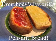 Peasant Bread, Baked Potato, Potatoes, Baking, Ethnic Recipes, Fun, Potato, Bakken, Backen