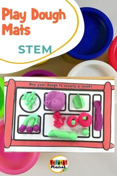 Fun, creative STEM or STEAM challenges using play dough! Your students will love using play dough to create solutions to these fun STEM challenges! Perfect for morning work, fast finishers, or a STEM or Maker Space!