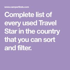 Complete list of every used Small trailer in the country that you can sort and filter. Small Trailer, Travel Trailers For Sale, Campers For Sale, Camping In Texas, Starcraft, Sorting, Canning, Filter, Country