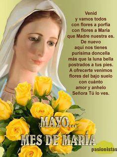 Cristiana Apostolica Romana.....¡ CREO PARA ENTENDER..!!!!! Spiritual Prayers, Catholic Prayers, Spanish Prayers, Religious Pictures, Strong Faith, Holy Mary, Prayer Quotes, Blessed Mother, Mother Mary