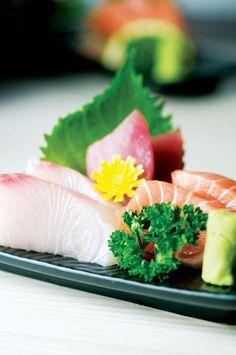 Shin Minori's Sashimi Moriwase - Assorted Raw Seafood