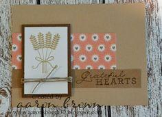 Grateful Hearts Card