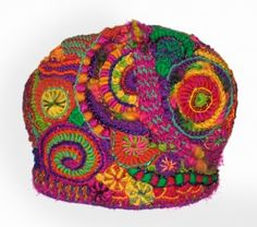 The Freeform Tea Cosy for Alice Springs Beanie Festival - Renate Kirkpatrick's Freeform
