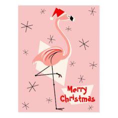 Image result for christmas flamingo