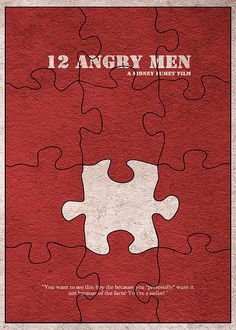 12 Angry Men Print By Ayse Deniz