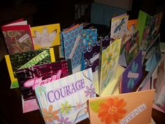 INSPIRATION/FRUIT OF THE SPIRIT Greeting Cards  by Jacquelyn