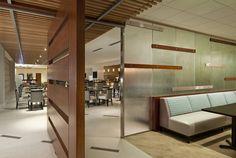 Restaurant - Sheraton Dallas North. Interior Architectural Design as consultant to MMA