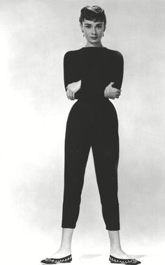 The all-black uniform of character Sabrina in the 1954 film