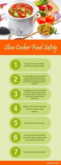 I love my slow cooker!  I always make sure I follow these Slow Cooker Safety Tips #slowcooker #safety #tips