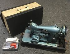 Rare Vintage Viscount Deluxe Precision Sewing Machine, Pedal, Motor, Case