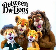 I grew up watching Between the Lions!!! I will have my kids watch this awesome series! Massive & brilliant resource for teaching reading. PBS kids