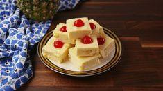 Pineapple Upside Down Fudge