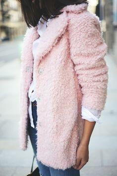 Soft Pink Coat.