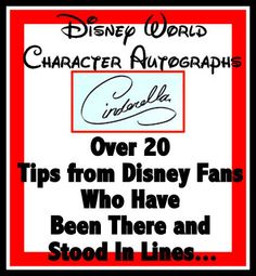 Headed to Disney World with Kids? Over 20 Character Autograph Tips from Parents