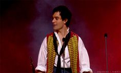 Ramin Karimloo - my favorite Enjolras. <mine too! He's my favorite for anything he's played.