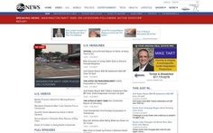 Our ad on ABCNews.com!