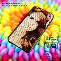 Lana Del Ray 01 Case for iPhone 4/4S/5/5S/5C by hamamerajarela, $13.99