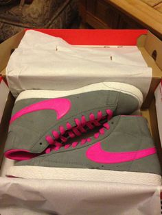 Neon Nike Blazer #FreshOutTheBox