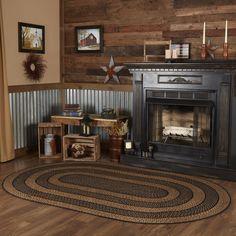 Primitive Living Room, Primitive Decor, Primitive Country Homes, Primitive Home Decorating, Cabin Decorating, Country Farm Kitchen, Primitive Bedding, Decorating Ideas, Decor Ideas
