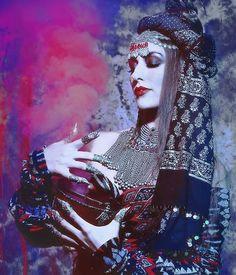 Holy Smokes!  Photos: Sequoia Emmanuelle Magic: Melodia Designs