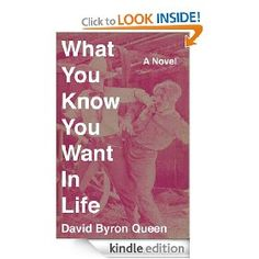 What You Know You Want In Life: A Novel   David Queen  $4.99