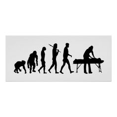 Physiotherapists Physical therapy shirts and gifts. Physiotherapy is carried out by Physical Therapists trained in the art of therapeutic massage, infrared therapy, ultraviolet therapy and electrotherapy for rehabilitation. Decorate your walls with the Physiotherapy evolution Poster.