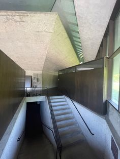 North Christian Church. 1964. Columbus, Indiana. Eero Saarinen Columbus Indiana, Eero Saarinen, Christian Church, Industrial Design, Stairs, Home Decor, Stairway, Decoration Home, Industrial By Design