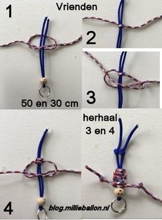 Paracord friends are easy to make in all shapes and sizes. - Paracord friends are easy to make in all shapes and sizes. These keychains, called paracord buddies - String Crafts, Felt Crafts, Diy And Crafts, Paracord Projects, Macrame Projects, Macrame Art, Macrame Knots, Diy For Kids, Crafts For Kids