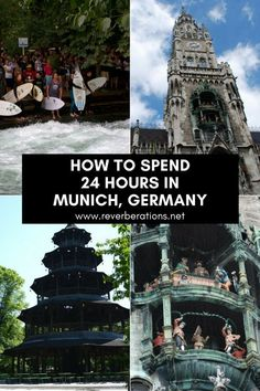 There's more than Oktoberfest to Munich! Guide on how to spend 24 hours in Munich, Germany. What to see, what to do & where to eat in the Bavarian capital. Visit Germany, Munich Germany, Germany Travel, Europe Travel Guide, Europe Destinations, Travel Abroad, Malta, Romantic Vacations, Dream Vacations