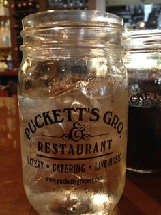 Another Nashville favorite? Puckett's Grocery & Restaurant! They even have a stage for live music!