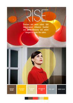 Color Trends Fall-Winter 2013-2014 by Vlady Vyshnevetskiy, via Behance