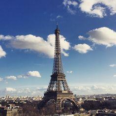 Happy birthday to the #EiffelTower from La Suite Shangri-La. - at Shangri-La Hotel, #Paris