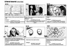 Cosasdeclase Storyboard Estructura Y Ejemplos  Storyboard