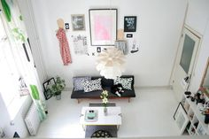 House Tour: A Quirky 430 Square Foot Helsinki Loft | Apartment Therapy