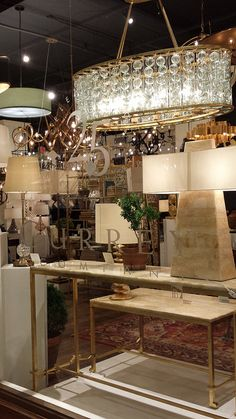 CURREY & Co - Lux lighting - Showroom Tour - Lynda Quintero-Davids #DesignOnHpmkt  #HPMKT 2015