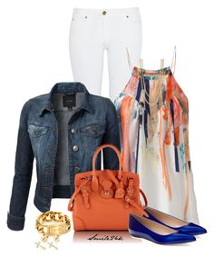The Perfect Casual by smile24k on Polyvore featuring polyvore, fashion, style, Twenty8Twelve, Michael Kors, Ralph Lauren, Sydney Evan, FOSSIL, Sergio Rossi, clothing, SimpleOutfits and skinnyjeans