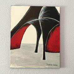 Black high heeled shoes by VibrantPictures on Etsy