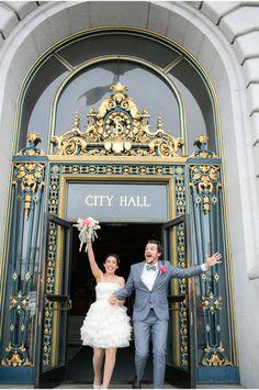 San Francisco City Hall wedding photographer 32