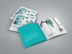 20 Best & Beautiful Brochure Design Ideas for Your Inspiration Health Eating, Health Diet, Health Care, Design Room, Layout Design, Design Design, Logo Design, Brochure Layout, Brochure Template