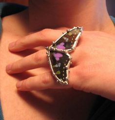 Butterfly Ring by neile on Etsy, $135.00