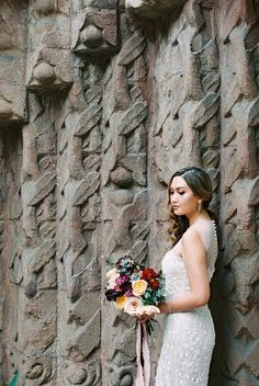 Embroidered wedding dress: Photography: This Modern Romance - http://thismodernromance.com/