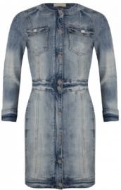 Designer Denim from Josh V SS17 Gill Dress tight fitting with a little stretch Women's Clothing – fashiondiy.co.uk
