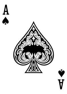 Ace Of Spades by wheelgenius on DeviantArt Flame Tattoos, Mini Tattoos, Body Art Tattoos, Skull Tattoos, Ace Of Spades Tattoo, Ace Tattoo, Card Tattoo Designs, Tattoo Sleeve Designs, Espada Tattoo